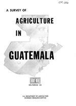 A survey of agriculture in Guatemala