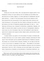 A report of the Sasaima seminar on rural development