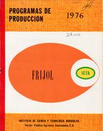 Programas de producciâon de frijol