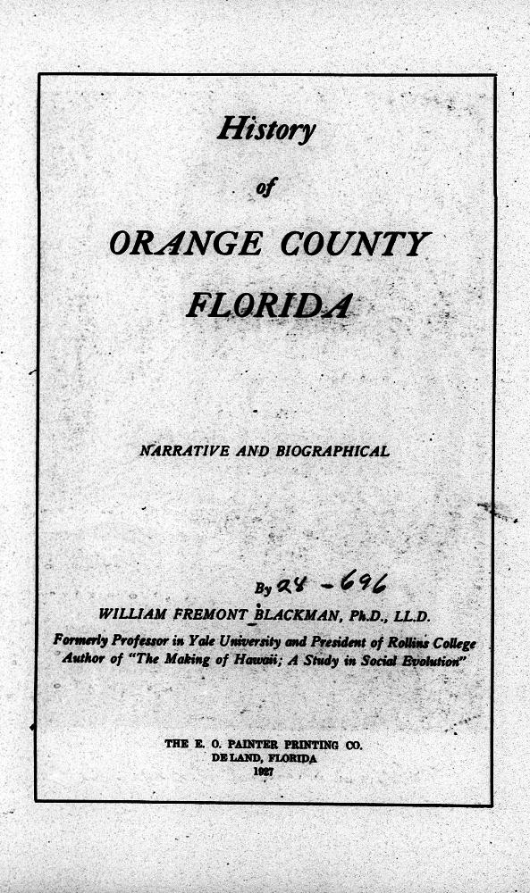 History of Orange County, Florida - Page 3