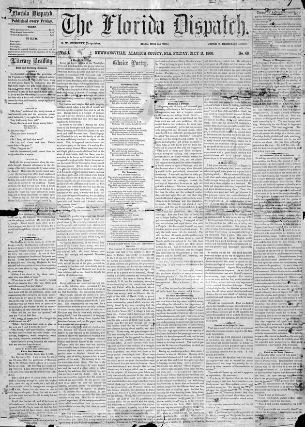 The Florida dispatch - Page 1
