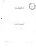 Proyecto de registros económicos de producción del ICTA con agricultores tradicionales