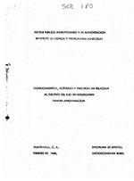 Conocimientos, actitudes y practicas en relacion al cultivo del ajo en Aguacatan : primera aproximacion