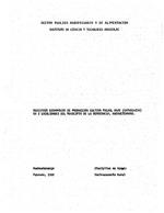 Registros economicos de produccion cultivo frijol rojo (Catrachita) en 2 localidades del Municipio de la Democracia, Huehuetenango