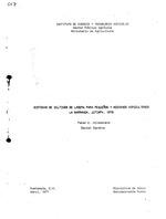 Sistemas de cultivos de ladera para pequenos y medianos agricultores : La Barranca, Jutiapa, 1976