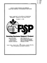 Farming systems research and extension