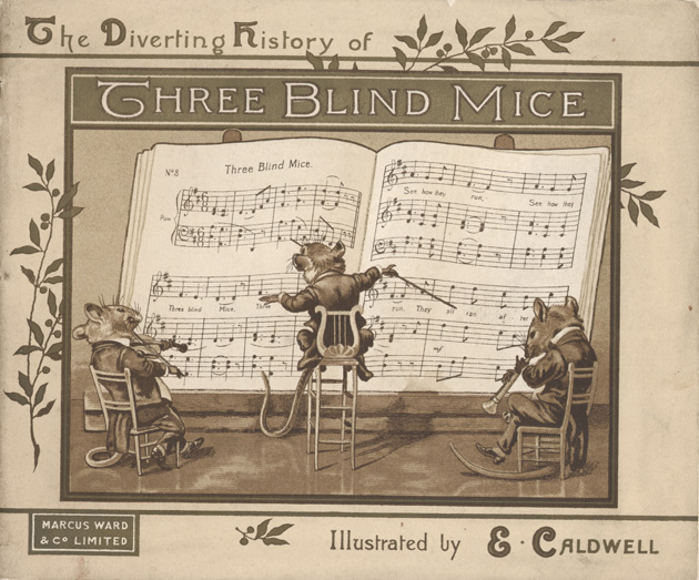 The diverting history of three blind mice - Cover 1