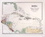 Gray's atlas map of Mexico ; Gray's atlas map of West Indies and Central America