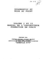 Diagnostic, mise en point et analyse de la recherche-vulgarisation en systèmes de production