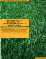 Agenda para la reactivacioÌn y modernizacioÌn de la agricultura