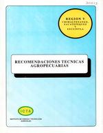 Recomendaciones técnicas agropecuarias para los Departamentos de Chimaltenango, Sacatepequez y Escuintla