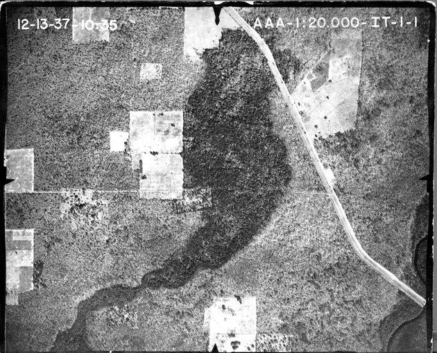 Aerial photographs of Alachua County - Flight 1 (1937) - Tile 1