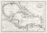 A chart of the West Indies