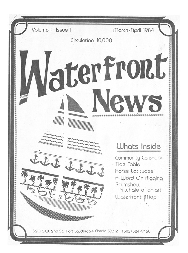 Waterfront news - Cover