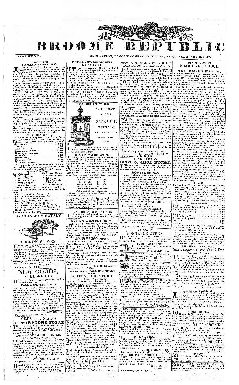 Broome Republican - page 1