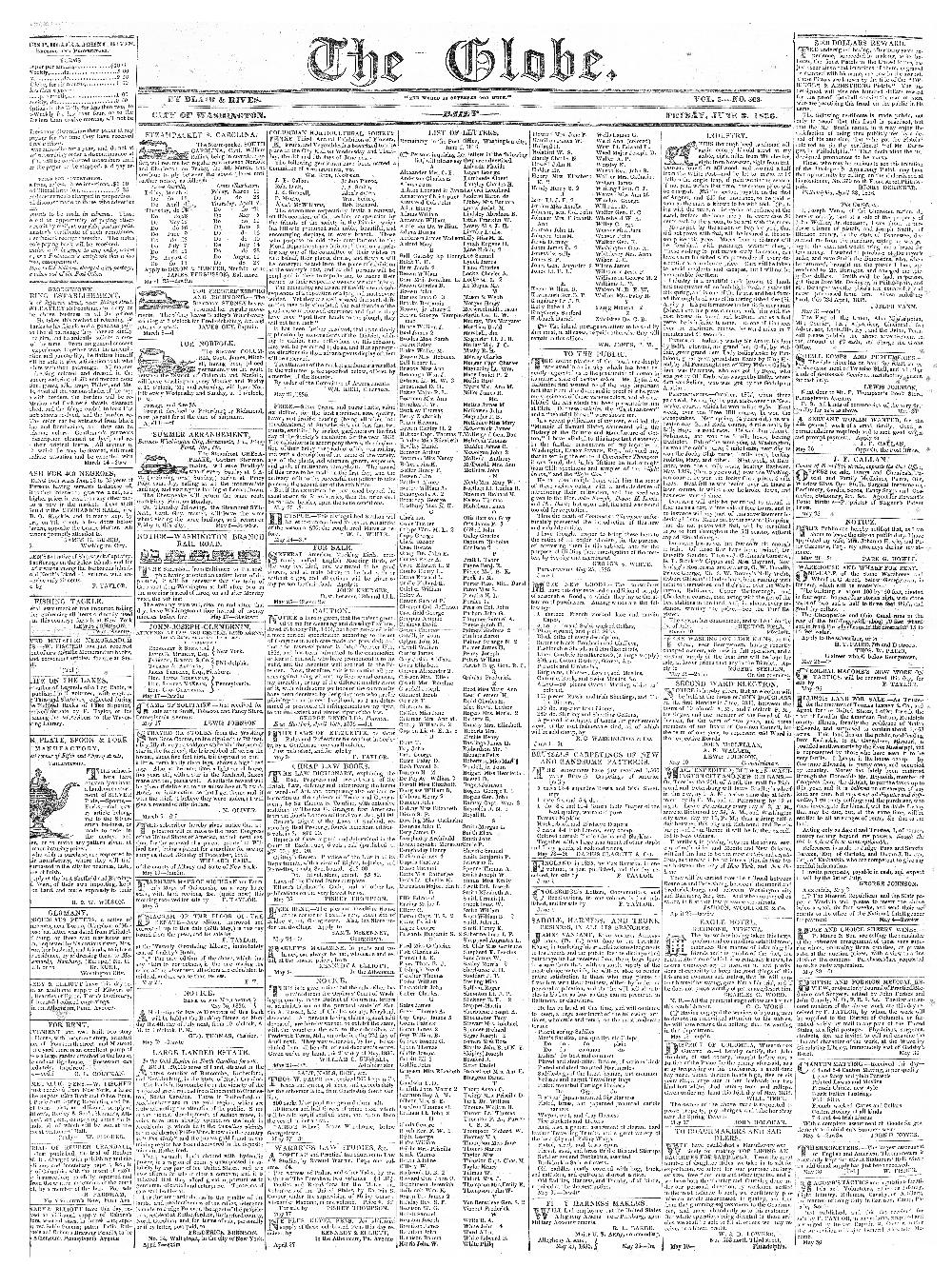 The globe - page 1