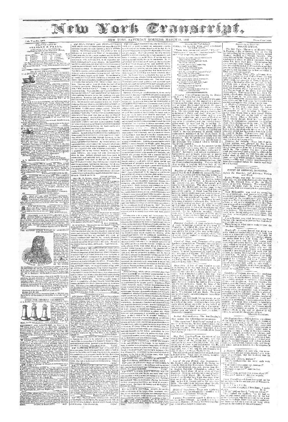 New York transcript - page 1