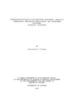 Reproductive biology of Elliptoideus sloatianus, Lampsilis subangulata, and Pleurobema pyriforme (Bivalvia Unionidae)