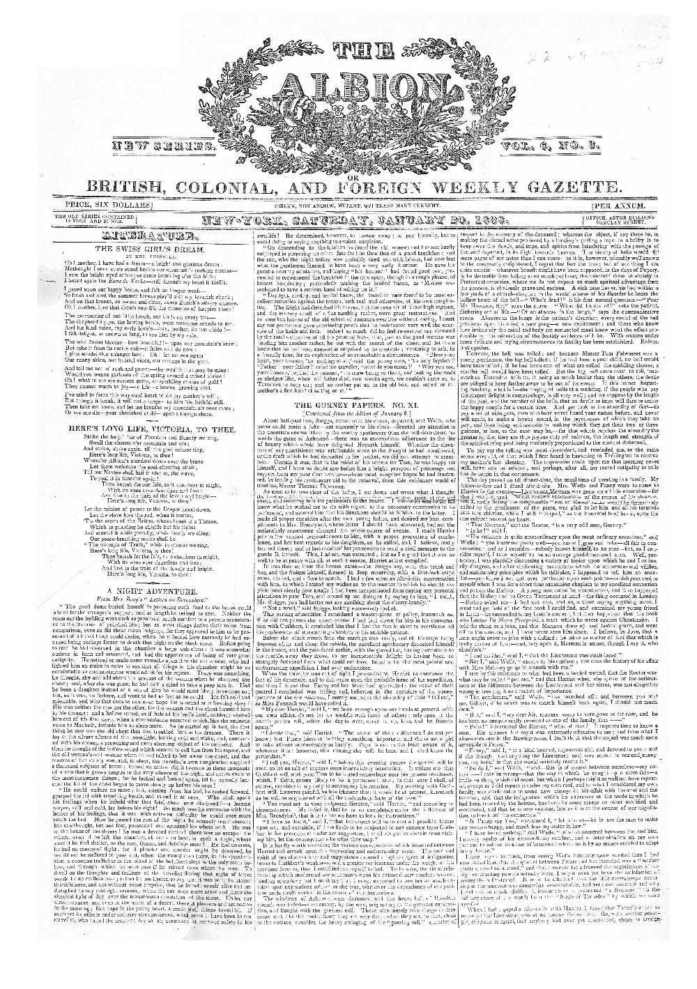 The Albion, or, British, colonial, and foreign weekly gazette - page 17