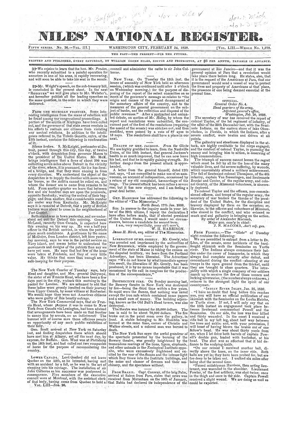 Niles' national register - page 401