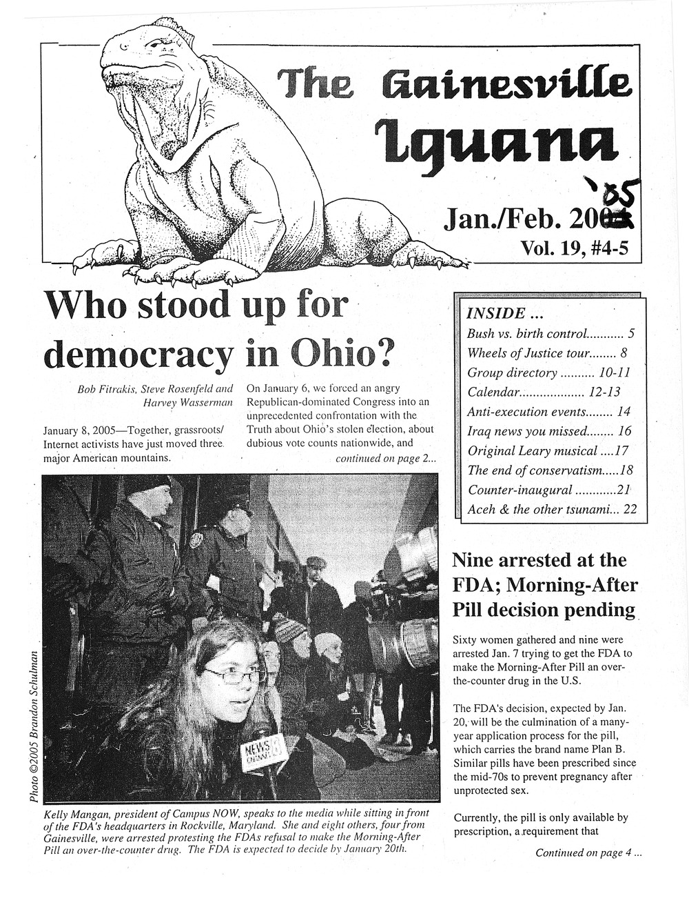 The Gainesville iguana - Page 1