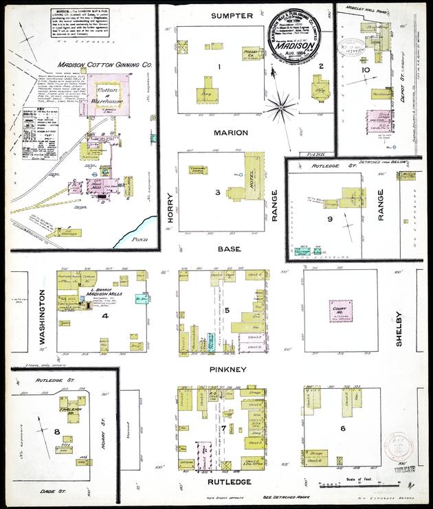 Arcadia, DeSoto County, Florida, 1923 - Sheet 1