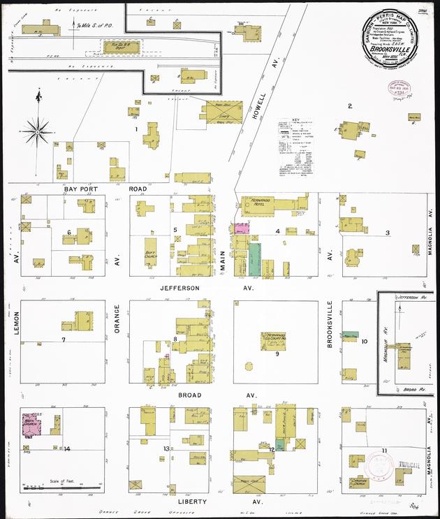 Brooksville, Hernando County, Florida, 1895