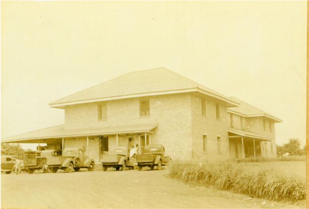 Photo: Plantation building.