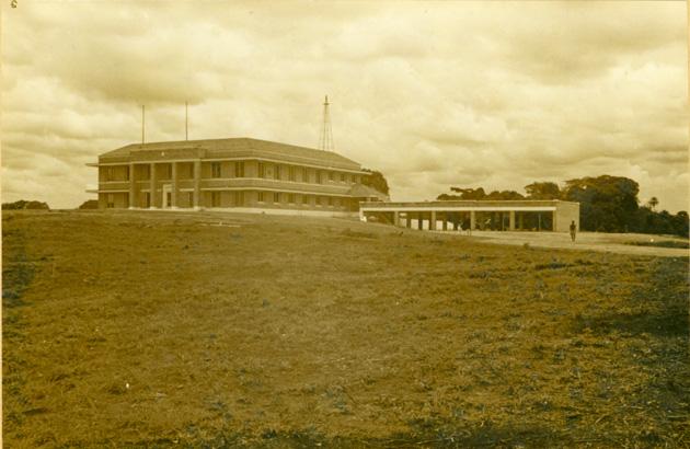 Photo: Plantation office building.