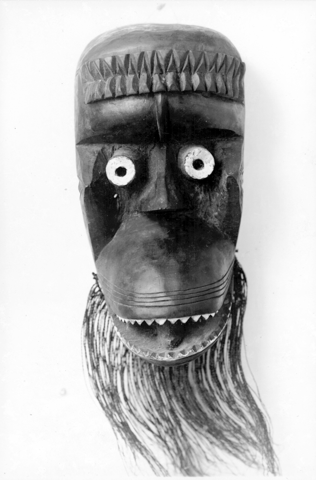 Photo: Mask 5. Monkey figure.