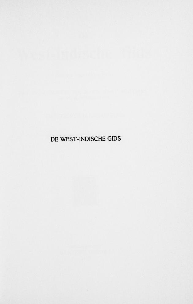 De West-Indische gids - Page iii