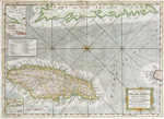A new map of the island of Jamaica divided into its parishes