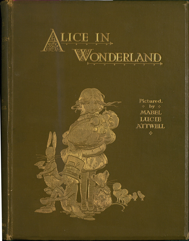 Alice in Wonderland - Front Cover 1