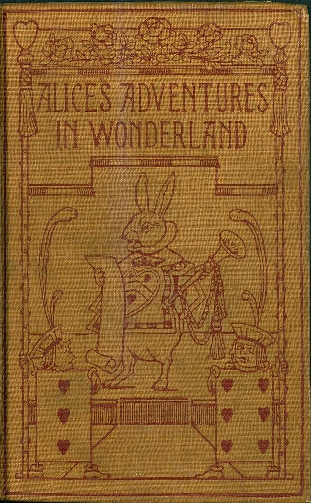 Alice's adventures in wonderland  - Front Cover 1