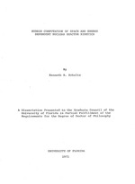 Hybrid computation of space and energy dependent nuclear reactor kinetics