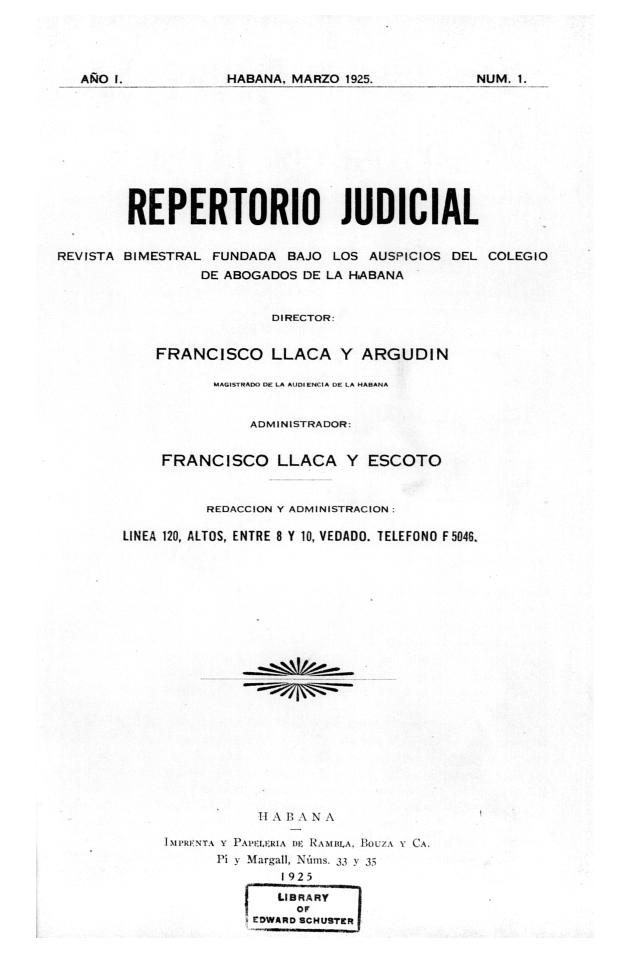 Repertorio judicial - Page 1