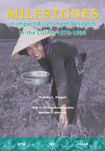 Milestones in impact assessment research in the CGIAR, 1970-1999