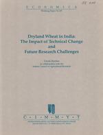 Dryland wheat in India