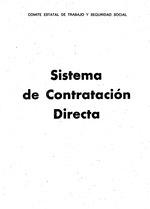Sistema de contratacion directa