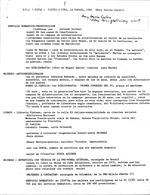 Notas Sueltas - visita a Cuba, La Habana, 1982