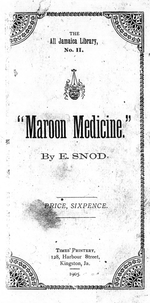 Maroon Medicine - Front Cover