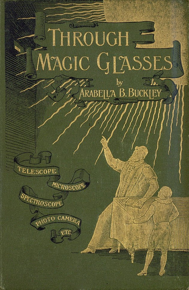 Through magic glasses and other lectures  - Front Cover 1