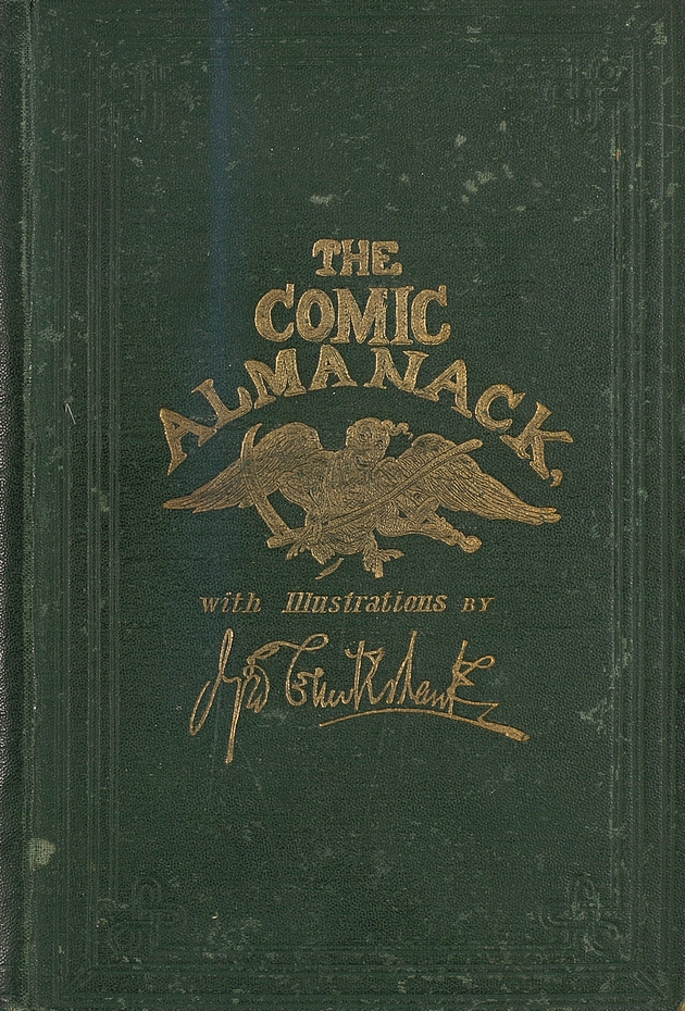 The Comic almanack - Front Cover