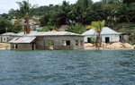 Views of Flores, Guatemala, from Lake Peten Itza