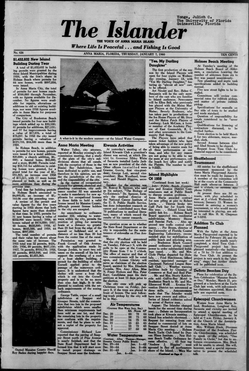 The Islander - Page 1