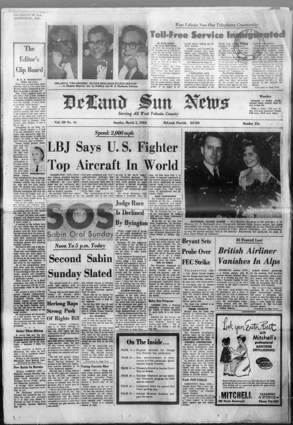 DeLand Sun News - Page 1