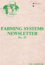 Farming systems newsletter