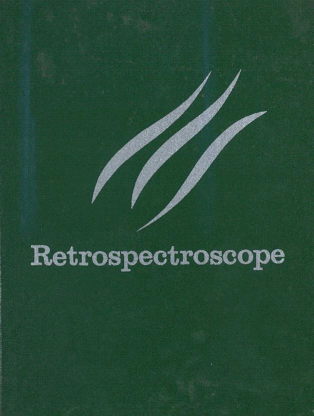 Retrospectroscope. Volume 1. 1964. - Front Cover 1