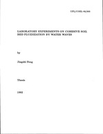 Laboratory experiments on cohesive soil bed fluidization by water waves