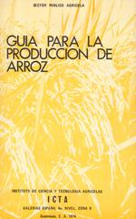 Guia para la producción de arroz